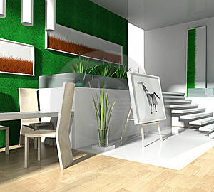 Modern Loft Royalty Free Stock Photography - Image: 7882777