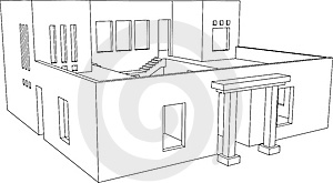 House Perspective 5 Royalty Free Stock Photo - Image: 7882925
