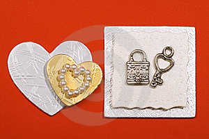 Accessories For Congratulation Card Stock Photos - Image: 7883103