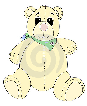 Pastel Teddy Royalty Free Stock Photography - Image: 7884077