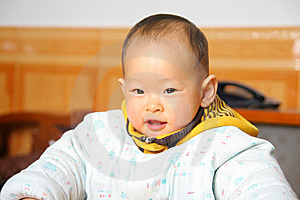 Chinese Baby Royalty Free Stock Photography - Image: 7885157