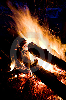 Campfire Royalty Free Stock Images - Image: 7886999
