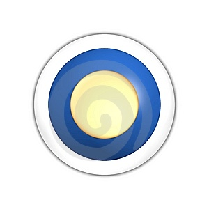 Sun Web Button Stock Photos - Image: 7887773