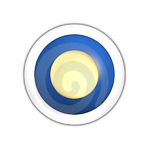 Sun Web Button Stock Photos - Image: 7887773