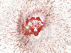 Shinny Heart Royalty Free Stock Image - Image: 7887816