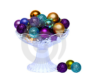 Colorful Balls In Vase Royalty Free Stock Photography - Image: 7888597