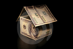 House Of Dollars Royalty Free Stock Photography - Image: 7889137
