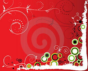 Abstract Floral Background Royalty Free Stock Images - Image: 7889299