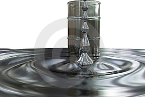Tun With Oil Royalty Free Stock Images - Image: 7889869