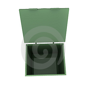 The Container For Dust Stock Photo - Image: 7890030