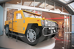 Model Of Off-road Vehicle Royalty Free Stock Photos - Image: 7890458