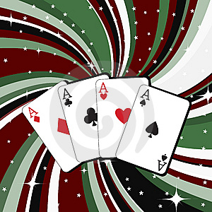 Gambling Cards Stock Photos - Image: 7892213