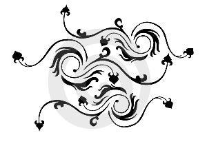 Floral Element Stock Image - Image: 7893371