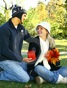 Give A Gift Outdoor Stock Photos - Image: 7893583