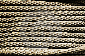 Metal Rope Texture Royalty Free Stock Photography - Image: 7893837