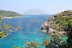 View From Similian Island 8 Stock Images - Image: 7894274