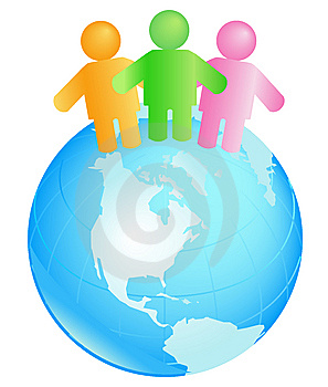 International Teamwork Royalty Free Stock Image - Image: 7894306