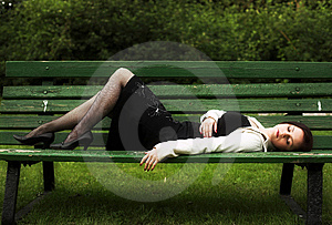 On The Bench Stock Photos - Image: 7894503