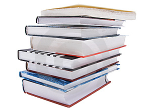 Stack Of Different Books Stock Photography - Image: 7894882