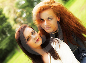 Best Friends Royalty Free Stock Photos - Image: 7895018