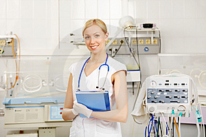 The nurse Royalty Free Stock Images