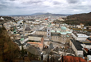 Historical Center Of Salzburg, Austria Stock Photography - Image: 7895342