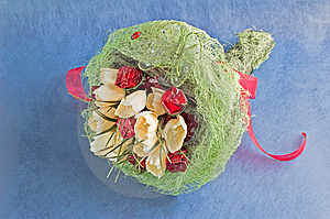 Bouquet Of Artificial Flowers Royalty Free Stock Images - Image: 7895879