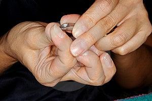 Manicure Royalty Free Stock Image - Image: 7896106