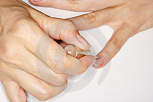 Manicure Royalty Free Stock Images - Image: 7896169