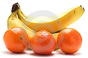 Bananas And Tangerines Royalty Free Stock Image - Image: 7896336