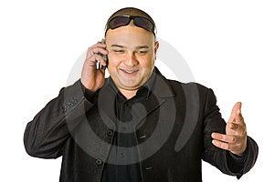 Man In Black Stock Photo - Image: 7896430