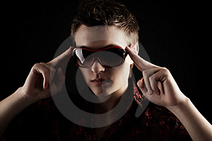 Pojken Tycker Om Arkivbilder - Bild: 7897044