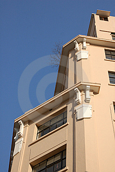 Ivory-white Building Royalty Free Stock Image - Image: 7897186
