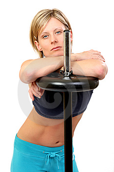 Fitness Woman Stock Photos - Image: 7898313