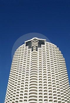 Tall, Round Apartment Building Stock Photos - Image: 790933
