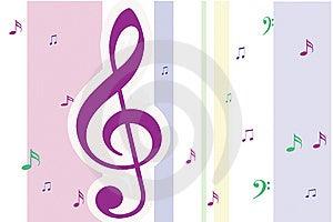 Musical Notes Stock Photos - Image: 7900253