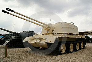 ZSU-57x2 Stock Images - Image: 7900314