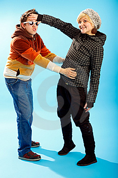 Happy Young Couple Stock Images - Image: 7901564