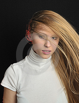 Sexy Blond Teen Age Girl Stock Photography - Image: 7901872
