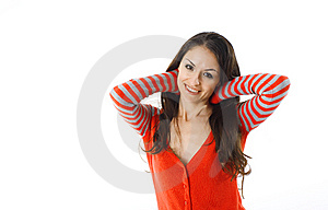 Portrait Of Hispanic Young Woman Royalty Free Stock Photography - Image: 7902107