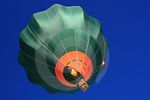 Hot-air Balloon Taking Off At Chateau D'Oex 2009 Royalty Free Stock Photography - Image: 7902857
