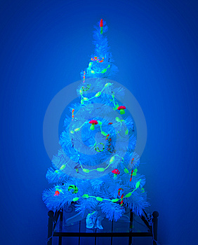 Mystic Christmas Tree Royalty Free Stock Images - Image: 7903629