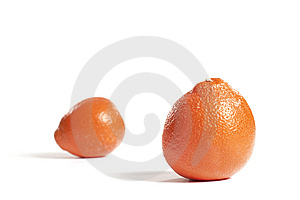 Two Oranges Stock Images - Image: 7905944