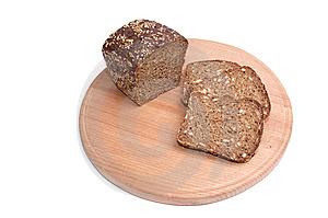 Pieces Of Bread. Stock Image - Image: 7906211