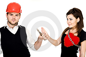 Two Persons Stock Photo - Image: 7906340