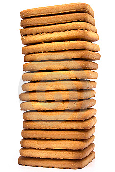 Tower From Cookies Royalty Free Stock Photos - Image: 7906538