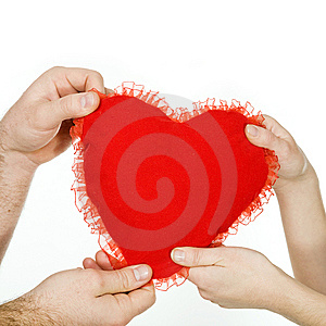 Big Red Heart Stock Image - Image: 7906641