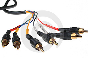 Component Cable Royalty Free Stock Image - Image: 7907266