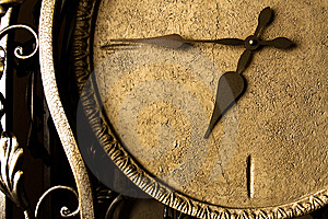Eternity (retro Clock-face) Stock Images - Image: 7907794