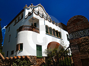 Gaudi's House Royalty Free Stock Photography - Image: 7908197